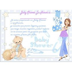 Tarjeta baby shower  - 1