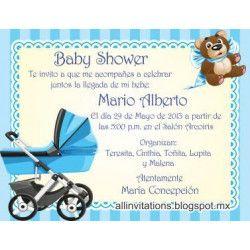 Tarjeta baby shower  - 2