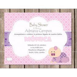Tarjeta baby shower  - 3