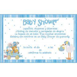 Tarjeta baby shower  - 4