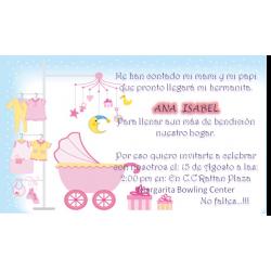 Tarjeta baby shower  - 5
