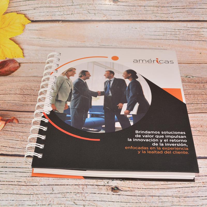 Agenda empresarial con 2 insertos  - 1