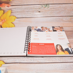 Agenda empresarial 4 insertos  - 4